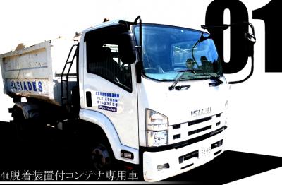 プレアデス株式会社 所持車両 重機1 カラー画像