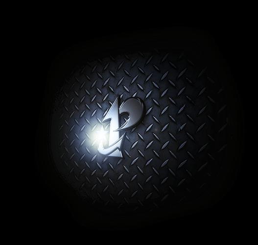 プレアデス株式会社 会社概要 鉄板に光るプレアデス株式会社のロゴマーク背景画像