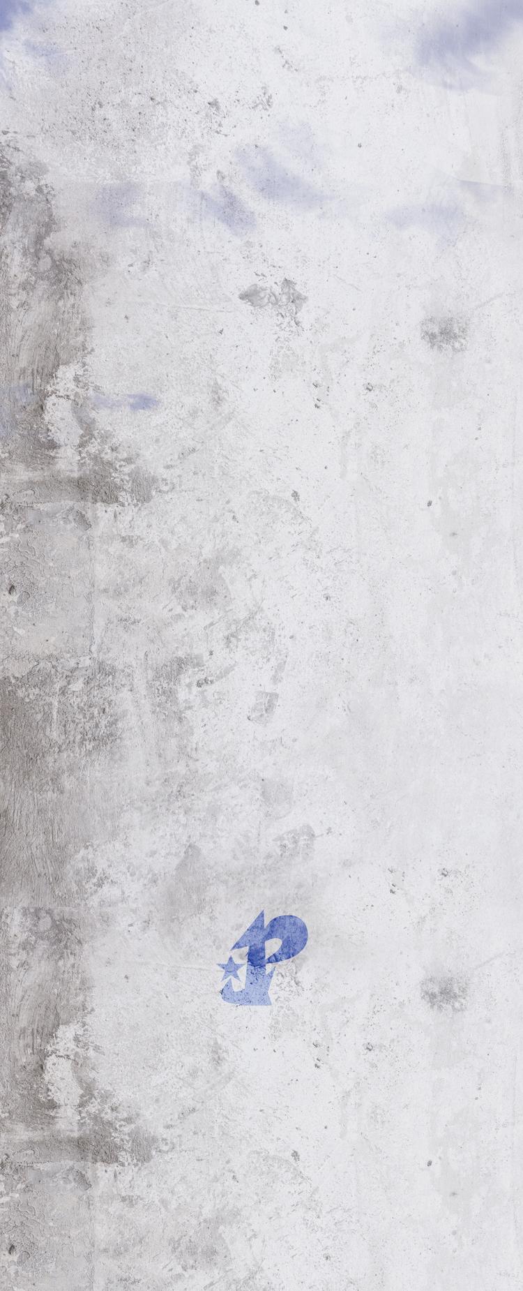 プレアデス株式会社 共通背景画像 コンクリートにプレアデス株式会社ロゴマーク スマホ用